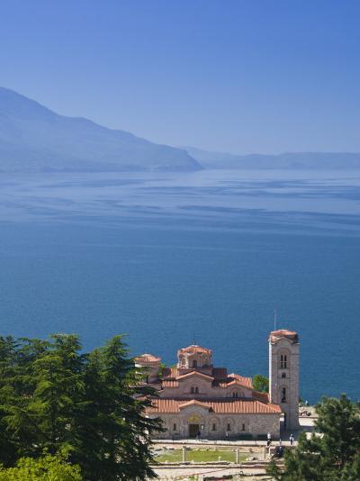 Sveti Kliment I Pantelejmon Church, Ohrid, Macedonia-Walter Bibikow-Photographic Print