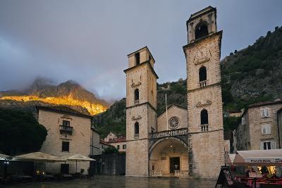 Svetog Tripuna Cathedral, Kotor, UNESCO World Heritage Site, Montenegro, Europe-Christian Kober-Photographic Print