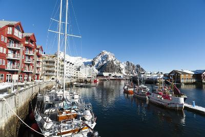 Svolvaer, Lofoten Islands, Nordland, Arctic, Norway, Scandinavia-Sergio Pitamitz-Photographic Print