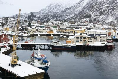 Svolvaer, Lofoten Islands, Nordland, Arctic, Norway, Scandinavia-Sergio Pitamitz-Photographic Print