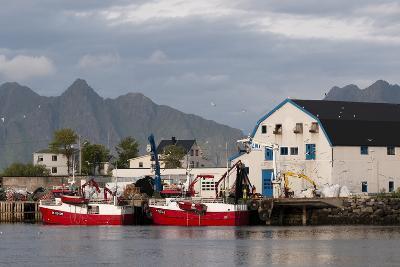 Svolvaer, Lofoten Islands, Norway, Scandinavia, Europe-Sergio Pitamitz-Photographic Print
