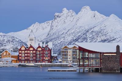 Svolvaer (Town), Austvagoya (Island), Lofoten, 'Nordland' (County), Norway-Rainer Mirau-Photographic Print