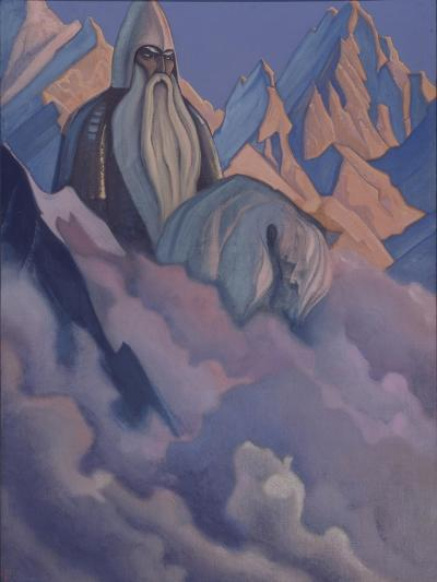 Svyatogor, 1942-Nicholas Roerich-Giclee Print