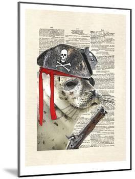 Swabby The Seal-Matt Dinniman-Mounted Art Print