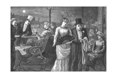 A Midsummer Night on the Terrace of the House of Commons, Palace of Westminster, 1881