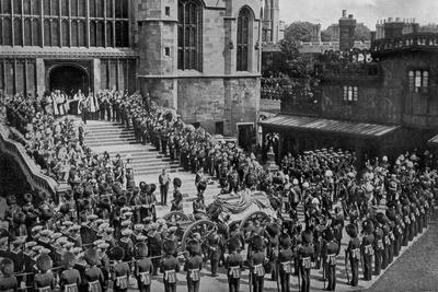 The Funeral of King Edward VII, Windsor, Berkshire, 1910