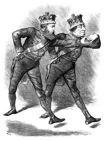The Pas De Deux!, 1878