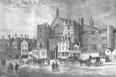 Westminster Hall, 1808