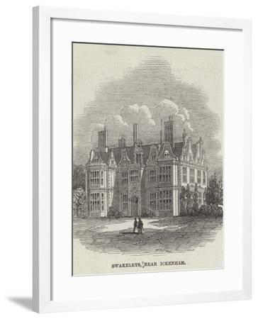 Swakeleys, Near Ickenham--Framed Giclee Print