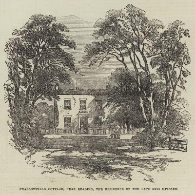 Swallowfield Cottage, Near Reading, the Residence of the Late Miss Mitford-Samuel Read-Giclee Print