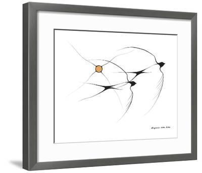 Swallows-Benjamin Chee Chee-Framed Giclee Print