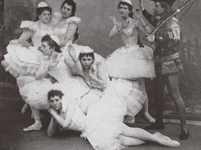 Swan Lake, Mariinsky Theatre, 1895--Photographic Print