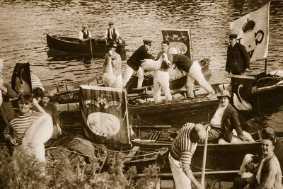 Swan Upping on the Thames--Photographic Print