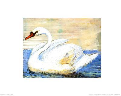 Swan-Silvana Crefcoeur-Art Print