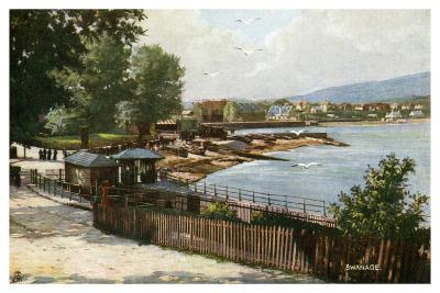 Swanage, Dorset, Early 20th Century--Giclee Print