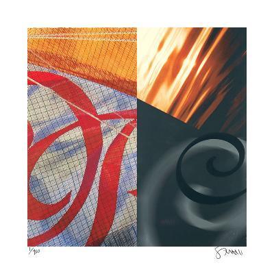Swans of the Distance-Scott Sandell-Giclee Print