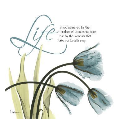 Swaying Tulips Blue, Life-Albert Koetsier-Art Print