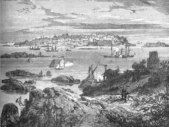 'Sweaborg', c1880-Richard Principal Leitch-Giclee Print