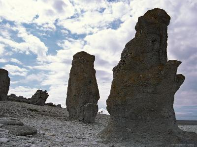 Sweden, Northern Gotland, Faro, Rock Formations-Brimberg & Coulson-Photographic Print