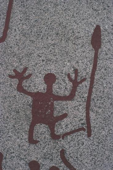 Sweden, Rock Carvings of Tanum or Tanumshede--Giclee Print