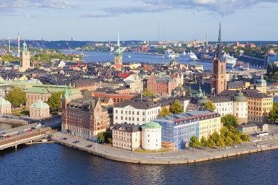 Sweden, Stockholm - the Old Town and Riddarholmen--Photographic Print