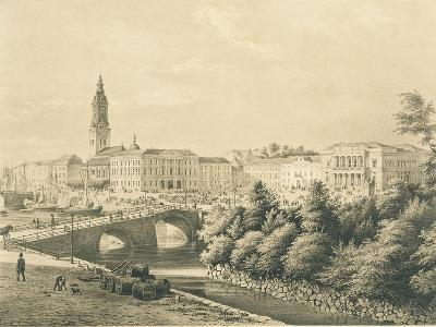 Sweden, View of City of Gothenburg--Giclee Print
