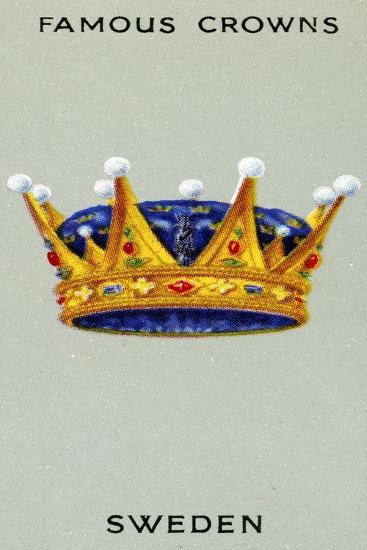 Swedish Crown, 1938--Giclee Print