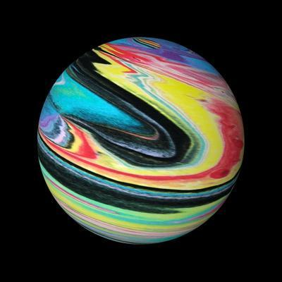Abstract Marble Ball