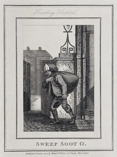 Sweep Soot O, Cries of London, 1804-William Marshall Craig-Giclee Print