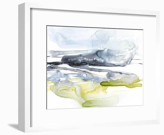 Sweeping Fields II-Jennifer Goldberger-Framed Premium Giclee Print
