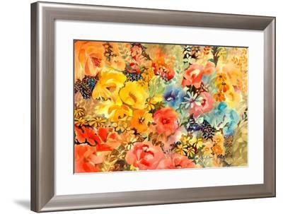 Sweet and Sassy-Neela Pushparaj-Framed Giclee Print