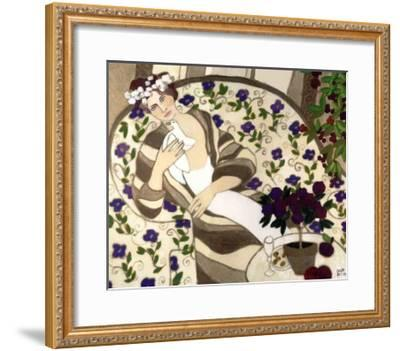 Sweet and Thoughtful-Colette Boivin-Framed Art Print
