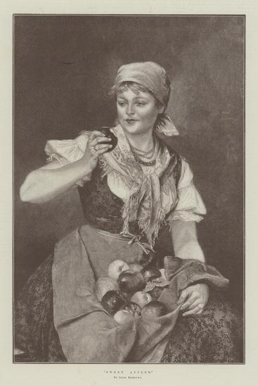 Sweet Apples--Giclee Print
