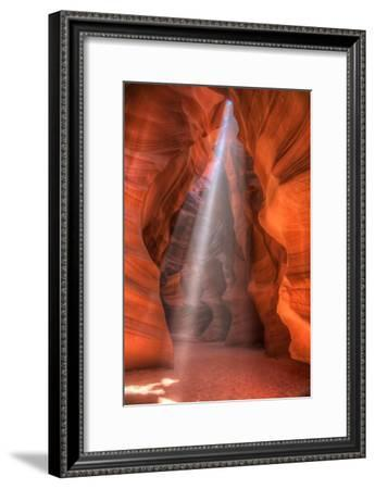 Sweet Beam of Light, Upper Antelope Canyon, Page, Arizona-Vincent James-Framed Photographic Print
