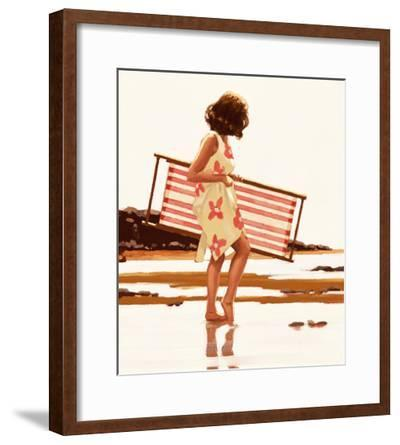 Sweet Bird of Youth (study)-Jack Vettriano-Framed Art Print