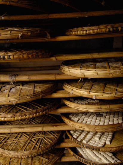 Sweet Bread, Jianshui Market, Yunnan Province, China-Pete Oxford-Photographic Print