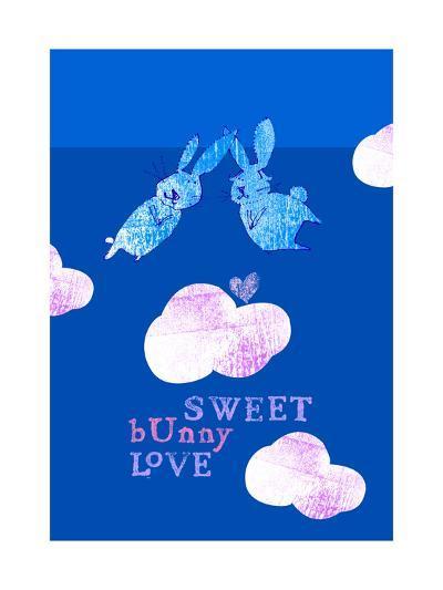Sweet Bunny Love--Art Print