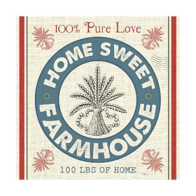 Sweet Farmhouse I--Art Print