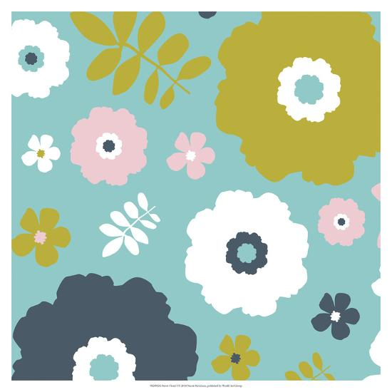 Sweet Floral I-Nicole Ketchum-Art Print