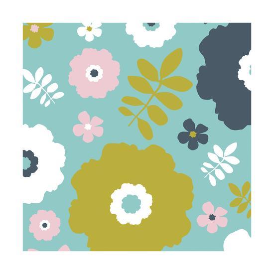 Sweet Floral II-Nicole Ketchum-Art Print