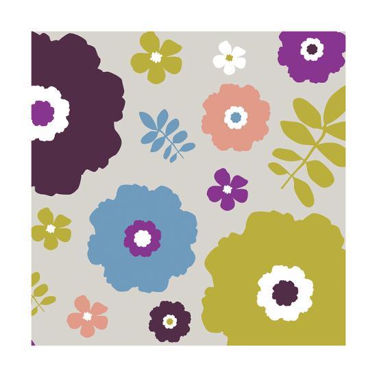 Sweet Floral III-Nicole Ketchum-Art Print