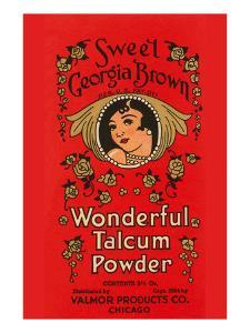 Sweet Georgia Brown Wonderful Talcum Powder