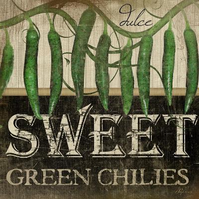 Sweet Green Chilies-Jennifer Pugh-Art Print