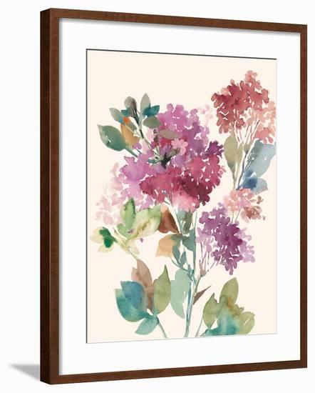 Sweet Hydrangea I-Asia Jensen-Framed Art Print