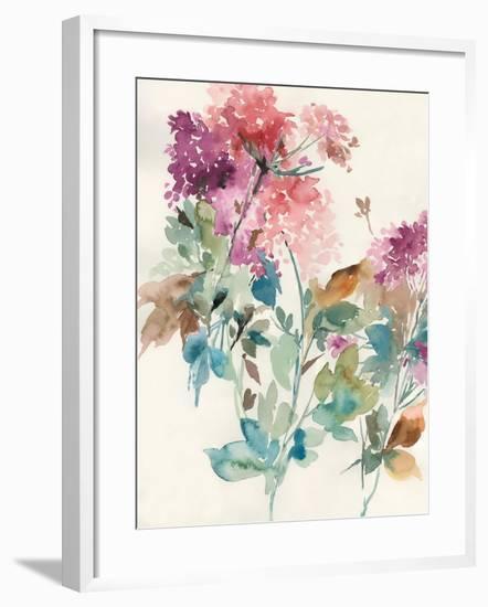 Sweet Hydrangea II-Asia Jensen-Framed Art Print