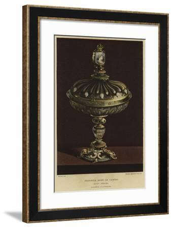 Sweet Jar Decorated with Cameos, 17th Century--Framed Giclee Print