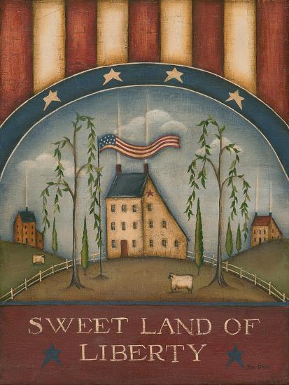 Sweet Land of Liberty-Kim Lewis-Art Print