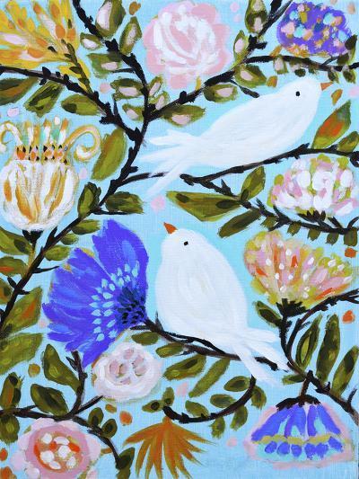 Sweet Love Birds II-Karen  Fields-Art Print