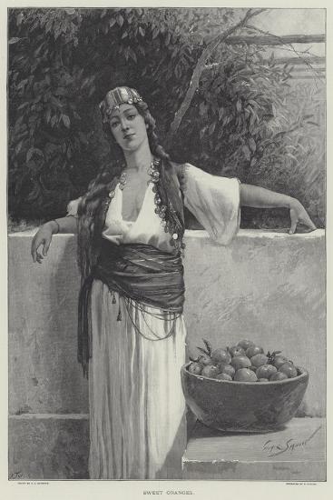 Sweet Oranges-George L. Seymour-Giclee Print