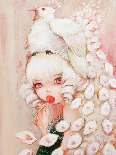 Sweet Peacock-Camilla D'Errico-Art Print